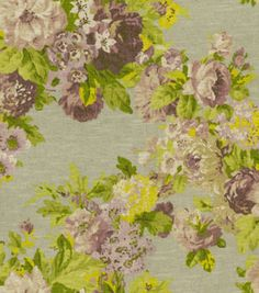Home Decor Print Fabric-Waverly Juliet Wisteria
