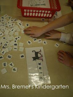 Color Words activities featuring Pete the Cat for Kindergarten and First Grade- perfect as literacy centers! Kindergarten Colors, Kindergarten Language Arts, Preschool Themes, Kindergarten Literacy, Early Literacy, Kindergarten Activities, Literacy Centers, Book Activities, Word Doc