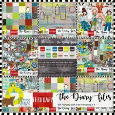 Collections :: T :: The Diary Files - Basics by Berna's Playground :: The Diary Files - February pack
