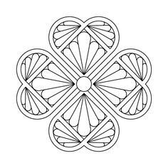 Irish Coloring Pages & Celtic Mandalas Irish Shamrock
