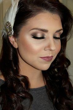 Gorgeous vintage makeup look - perfect for a bride! | thebeautyspotqld.com.au