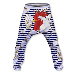 Sailor rooster Baggy Pant Unicorn Ice Cream, Baggy Shorts, Sailor, Elastic Waist, Rooster, Hoodies, Sweaters, T Shirt, Sweater