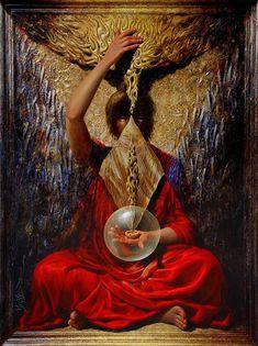 Vijender Sharma Tutt Art Katherine Stone, Robert Mcginnis, Luis Royo, Meditation Art, Figurative Art, Art Gallery, Oil Paintings, Artist, Brushes