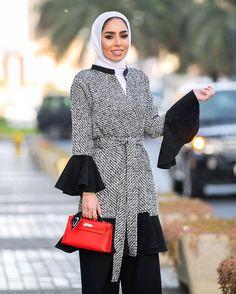 """687 Likes, 52 Comments - Fatema (@justfatema) on Instagram: """". Today's kaftan : @jihene_atypik لوك اليوم من @jihene_atypik """""""