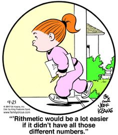 Created by Bil Keane and based loosely on his life, Family Circus is about the challenges and adventures of a suburban family of six. Math Comics, Fun Comics, Love My Family, Family Life, Family Circle, Family Circus Cartoon, Laughter The Best Medicine, Math Humor, School Jokes