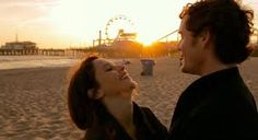 Thrilling and blissful first love, played beautifully by Felicity Jones and Anton Yelchin in Like Crazy.