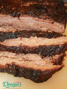 Tender super moist beef brisket made in the slow cooker, with amazing bark! I have a spring and summer friendly recipe that you all are going to love! I'm going to show you how I… (Paleo Slow Cooker Brisket) Slow Cooker Beef, Slow Cooker Recipes, Beef Recipes, Cooking Recipes, Crockpot Meals, Beef Brisket Recipes Crockpot, Chicken Recipes, Cooking Tips, Smoked Brisket
