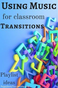 Are You An Elementary Education Teacher Looking For More Classroom Ideas? This Classroom Management Tip Will Ease The Stress Of Transitions In The Classroom Using Music In The Classroom Is A Fabulous Classroom Management Tool Check Out These Awesome Lists Classroom Behavior, Music Classroom, Classroom Setup, Songs For The Classroom, Creative Classroom Ideas, Classroom Playlist, Classroom Curtains, Classroom Economy, Classroom Solutions