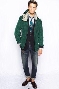 Jacket and blazer? I like it.