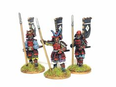 Jim's generic samurai thread Tarting up old figures** - Lead Adventure, Army Uniform, Board Games, Knight, Medieval, Japanese, Models, Projects, Painting