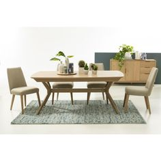 Product thumbnail Dining Table, Furniture, Home Decor, Decoration Home, Room Decor, Dinner Table, Home Furnishings, Dining Room Table, Home Interior Design