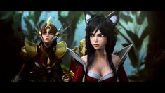 League of Legends Cinematic: A New Dawn,【Making of】 https://www.youtube.com/watch?v=Uur8s3AqQw0