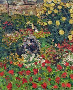 bofransson: The Flower Garden Louis Valtat - 1893 Art Fauvisme, Maurice De Vlaminck, Andre Derain, Art Nouveau, Raoul Dufy, Inspiration Art, Georges Braque, Galerie D'art, Expositions