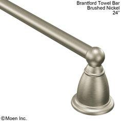 Brantford Towel Bar - Brushed Nickel