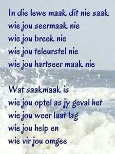 Wat saakmaak in die lewe, is wie jou optel as jy geval het . Uplifting Quotes, Motivational Quotes, Inspirational Quotes, Words Quotes, Bible Quotes, Sayings, Happy Thoughts, Positive Thoughts, Messages For Friends