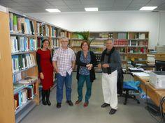 Personal bibliotecario. Estación Biológica de Doñana (EBD) Sevilla