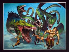 Jim Murray - Protean Hydra Comic Art