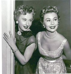Barbara Stanwyck and Mitzi Gaynor