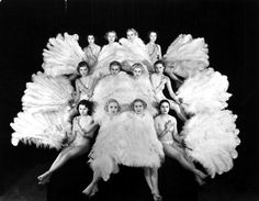 16th January 1945: The chorus girls starring in Felix Ferry's 'Monte Carlo Follies', appearing at London's Grosvenor House. (Photo by Sasha/Getty Images)