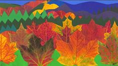 """Leaf Man by Bill Cameron. The students used """"The Leaf Man,"""" by Lois Ehlert, to work with our High Frequency Words."""