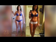 30 Inspiring Female Body Transformations | Weight Loss Before and After... - YouTube