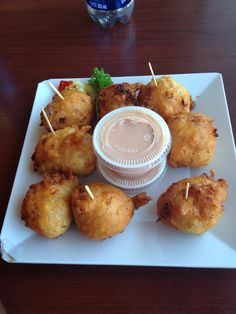 Conch Fritters.  Some of best at Sloppy Joes in Key West or Lor-e-lei's in Islamorada
