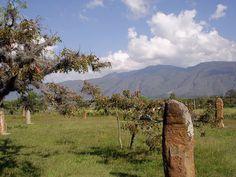 El Infiernito - Centre Astronomique des indiens Muiscas    Villa de Leyva - Boyaca - Colombia