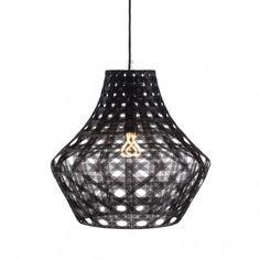 Hermon & Hermon Anahita pendant - woven shade, great shape  POA H&H
