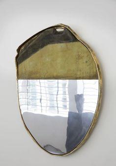 DC a mirror by Vincenzo De Cotiis - Ferien Ideen Industrial Design Furniture, Vintage Furniture, Furniture Design, Reclaimed Furniture, Industrial Lamps, Interior Exterior, Home Interior, Vincenzo De Cotiis, Spiegel Design
