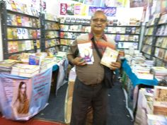At Chennai book fare with My friend Mr Subra's books.