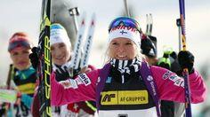 Naisten kauden viimeinen ampumahiihdon takaa-ajokilpailu päättyi suomalaisjuhlaan, kun Mari Laukkanen otti uransa toisen maailmancupvoiton.