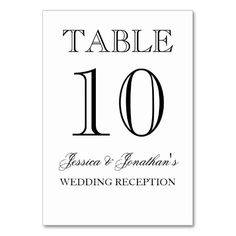 =>>Save on          Elegant Black and White Table Number Card Table Cards           Elegant Black and White Table Number Card Table Cards In our offer link above you will seeReview          Elegant Black and White Table Number Card Table Cards please follow the link to see fully reviews...Cleck Hot Deals >>> http://www.zazzle.com/elegant_black_and_white_table_number_card_table_card-256653898410739571?rf=238627982471231924&zbar=1&tc=terrest
