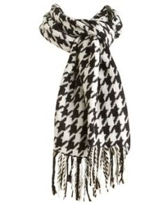 houndstooth scarf | Houndstooth Scarf | Shop fashion, accessories| Kaboodle
