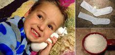 Carobna sol-čarapa : Brz spas za bol u uhu i upale u uhu. Za djecu i za odrasle ! ~ Mala kuhinja