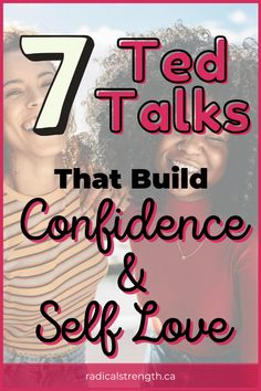 Women especially are up against a lot when they try to have confidence in life, love, and the workplace. Get inspired by other amazing women who give their best (and often hilarious) tips on building confidence and self love. These funny and inpirational tales will leave you in tears (both kinds!). #selflove #confidence #tedtalks #inpirational #relationships #leadership Self Development, Personal Development, Best Ted Talks, Self Confidence Tips, Perfect Relationship, If You Love Someone, Negative Self Talk, Self Compassion, Self Acceptance