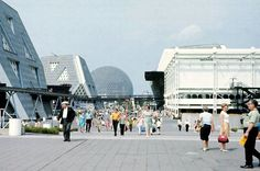 expo  67 montreal canada  - via how we imagined it would be