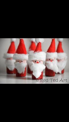 Easy Christmas Santa Craft