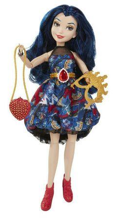 "Descendants ""Disney Jewel-bilee Evie Isle of the Lost"" Doll Disney Descendants Dolls, Descendants Wicked World, Disney Dolls, Dreamworks, Custom American Girl Dolls, Mal And Evie, Isle Of The Lost, Pixar, All Disney Princesses"