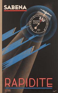 250 (knots?) = rapidité in the 1930's