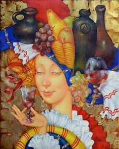 Налётова Ольга. Красное вино