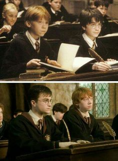 Harry and Ron #HarryPotter