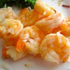 Skinny Honey Coconut Shrimp by littlebungaloweats