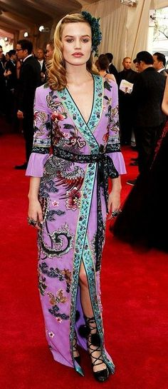 Georgia May Jagger in custom Gucci. 'China: Through The Looking Glass', Met Gala 2015.