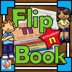 Articulation and learning 'n' is easy with this flip book.  This product contains 2 x 8 pages flip books: the pages are packed with pictures and activities and can be used to make a flip book that will learning speech sounds hands on and interactive.Version 1- is a black and white flip book.