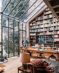home library design ~ home library . home library ideas . home library design . home library cozy . home library office . home library ideas small . home library decor . home library ideas cozy Future House, House Ideas, Design Apartment, Dream Apartment, Home Libraries, Cozy Home Library, Home Library Design, Home Library Rooms, House Goals