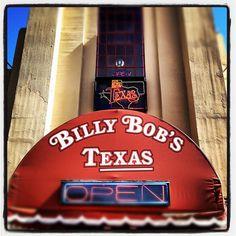 Billy Bob's Open Neon Sign Stockyards Fort Worth Texas -5337 by Dallas Photographer David Kozlowski, via Flickr