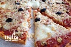 Ev Yapımı Nefis Pizza (Püf Noktalarıyla) Tarifi