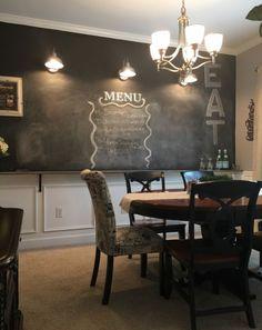 Susan Ryans LessIsMore Farmhouse House Tour House Tours - Chalkboard accents dining rooms