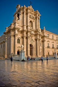 Siracusa, il Duomo - Sicily, Italy