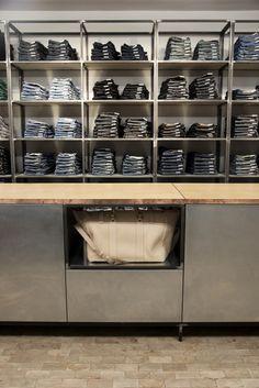 Nudie Jeans store Global Repair Station London 03